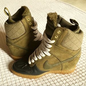 Dunk Sky Hi Sneakerboot Wedge